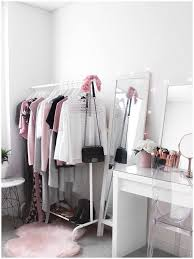beauty room furniture. Wardrobe ♡ Beauty Room Makeup Vanity With Ikea Malm Dressing Table And Clothing Rack Furniture