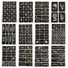 12 листов Diy аэрограф краски для росписи хной индийский