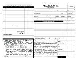 estimate samples sample auto body shop invoice template new download mechanic receipt