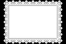 かわいい額縁レースweb素材 レース素材専門サイト Da Laceダレース