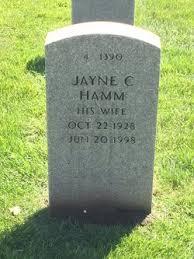 Jayne Colleen Johnson Hamm (1928-1998) - Find A Grave Memorial