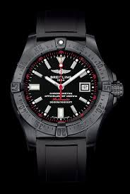 - All-black Watchtime Usa's 5 Pilots 1 Watch Breitling Magazine Watches No Stealth