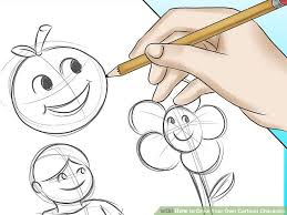 image led draw your own cartoon character step 6