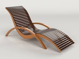 lounge chair outdoor wood patio deck 3d model obj mtl stacking mesh patio chairs