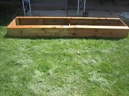 cedar garden box. Cedar Garden Box For The Front Yard K