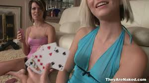 Lesbians playing stripping games