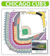 Wrigley Field Seat Chart Seating Concert Inspirational Map