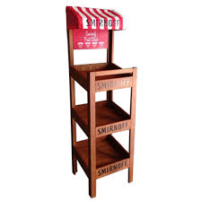 Wooden Fruit Display Stands Magnificent Display Racks Portfolio GAP Promo Gloucester MA