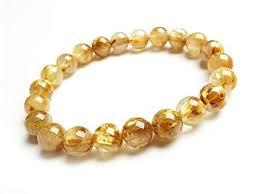 DUOVEKT 100% Natural Gold Rutilated Quartz ... - Amazon.com