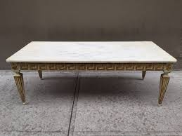 antique italian neoclassical style marble top coffee table for glass