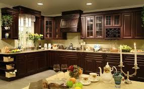 Modern Cherry Kitchen Cabinets Modern Dark Cherry Kitchen Cabinets Dark Cherry Color Kitchen