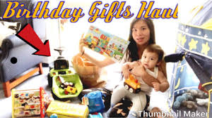 birthday gifts haul pinay in germany