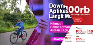 Meet langit musik, an online music streaming site in indonesia run by telkomsel, and melon indonesia. Menikmati Lagu Sepuasnya Pada Langit Musik Dengan Kuota Entertainment Kartu Halo Telkomsel Jejak Hitam Putih Bede