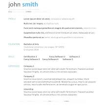 Resume Templates Download Fascinating Free Downloadable Resume Templates For Microsoft Word Ideas Download