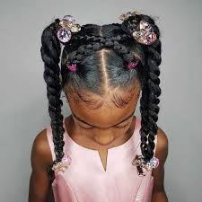 Pin by Hilary Riley on Samara's Hair in 2020 | Girls hairstyles braids,  Toddler hairstyles girl, Kids braided hairstyles