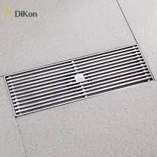 Kitchen Floor Drain Aliexpresscom Buy Dikon 304 Stainless Steel Brushed Bathroom