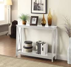 Amazon.com: Convenience Concepts Oxford Console Table, White: Kitchen &  Dining