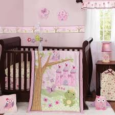 baby girl crib bedding set Chic Baby Girl Crib Bedding for Your