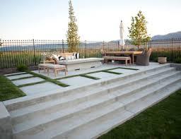 plain concrete patio. Beautiful Concrete Concrete Patio Stairs Fire Pit Patio AgTrac  Enterprises Logan For Plain E
