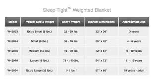 Gravity Blanket Size Chart Simplefootage January 1984
