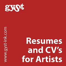 Gyst Article Resumes Cvs For Artists Getting Your Sh T Together