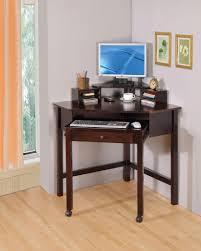 wood home office desks small. Coaster Small Corner Wood Computer Desk With 1 Drawer Roller $249 Home Office Desks