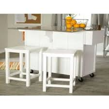 The Randall Portable Kitchen Island With Optional Stools Contemporary  Kitchen