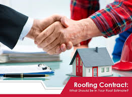 Roofing Contract: What Should Be In Your Roof Estimate?