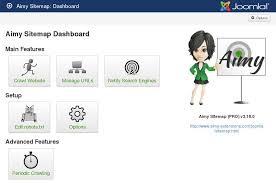 aimy sitemap s dashboard