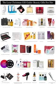 The Luxe Christmas Gift Guide Beauty Gifts For Her  The Luxe Christmas Gifts For Her 2014