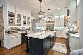 contemporary cottage kitchen with