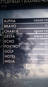 Listen to the audio pronunciation in english. Anyone Else Notice On The Squad Select Menu It Is Using The Current Phonetic Alphabet Instead Of The British One Used In Game Or Is This Because This Is The German Squad