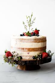 Vanilla Naked Cake Sallys Baking Addiction