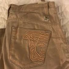 Women <b>Versace Metal Jeans</b> on Poshmark