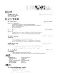 Generic Resume Resume For Study