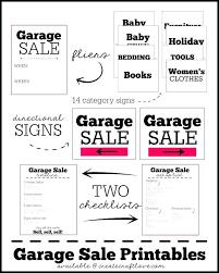Garage Sale Price Tags Free Printable Yard Template – Advantageint