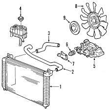 parts com� chevrolet silverado 2500 hd radiator oem parts gm parts catalog with part numbers at Gm Oem Parts Diagram