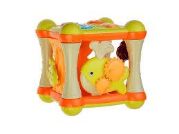 <b>Игрушка</b> развивающая <b>S</b>+<b>S Toys</b>, Bambini Куб <b>музыкальный</b> с ...