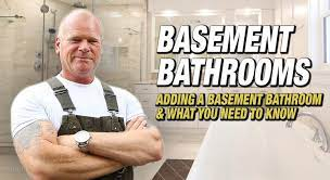 Adding A Basement Bathroom What You Need To Know Make It Right