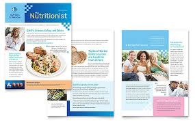 Newsletter Templates Pages Dietitian Newsletter Template Design