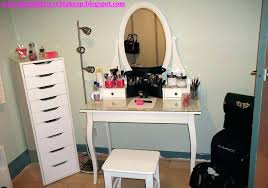 makeup vanity table set makeup desk with drawers furniture cool white makeup vanity table set with