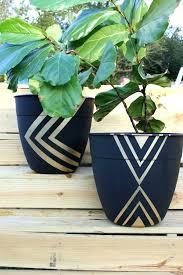 plnter chep e nd painted plant pots painting plastic flower ideas