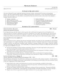 Business Development Manager Resume Resume Summary Business Development Manager Therpgmovie 31