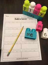 There are differences in opinion about whether using phonics is useful in teaching children to read. Lego Sight Word Lego Words Kindergarten Phonics Activities Lego Classroom Theme