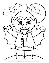 Cute Halloween Coloring Pages For Kids Halloween Coloring Pages Easy Peasy And Fun
