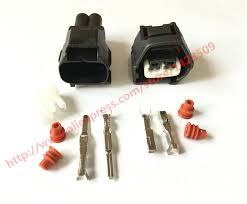 popular toyota wiring harness connectors buy cheap toyota wiring 20 set auto 2 pin female male crank sensor wire harness waterproof connector for lexus toyota