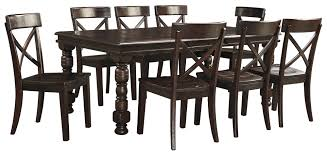 dining table set 9 piece. 9-piece solid pine dining table set 9 piece