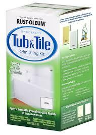 7860519 white bathtub title refinish paint kit at t