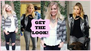 ha marin hair makeup outfit pretty little liars style by dani you