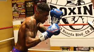 Blueface Signed Bare-Knuckle Boxing ...
